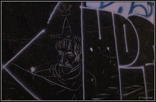 Street Art A The King