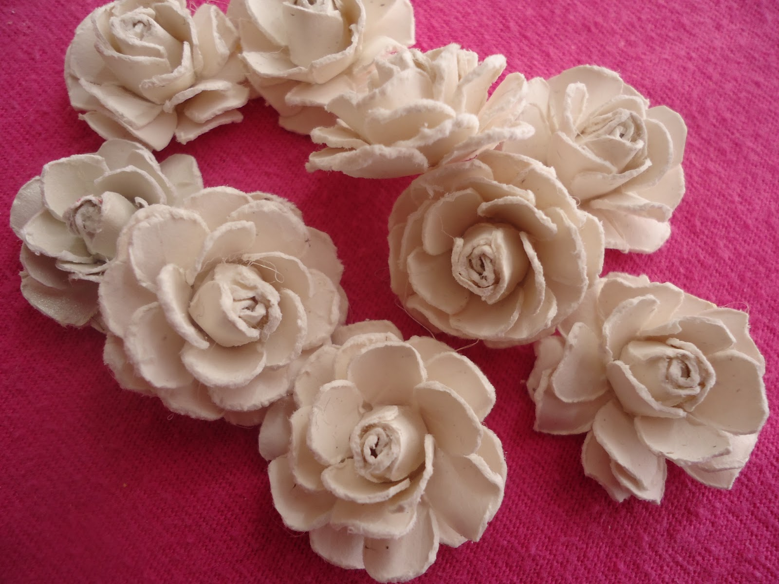 Crafter on a budget easy paper rose tutorial for Easy handmade flowers