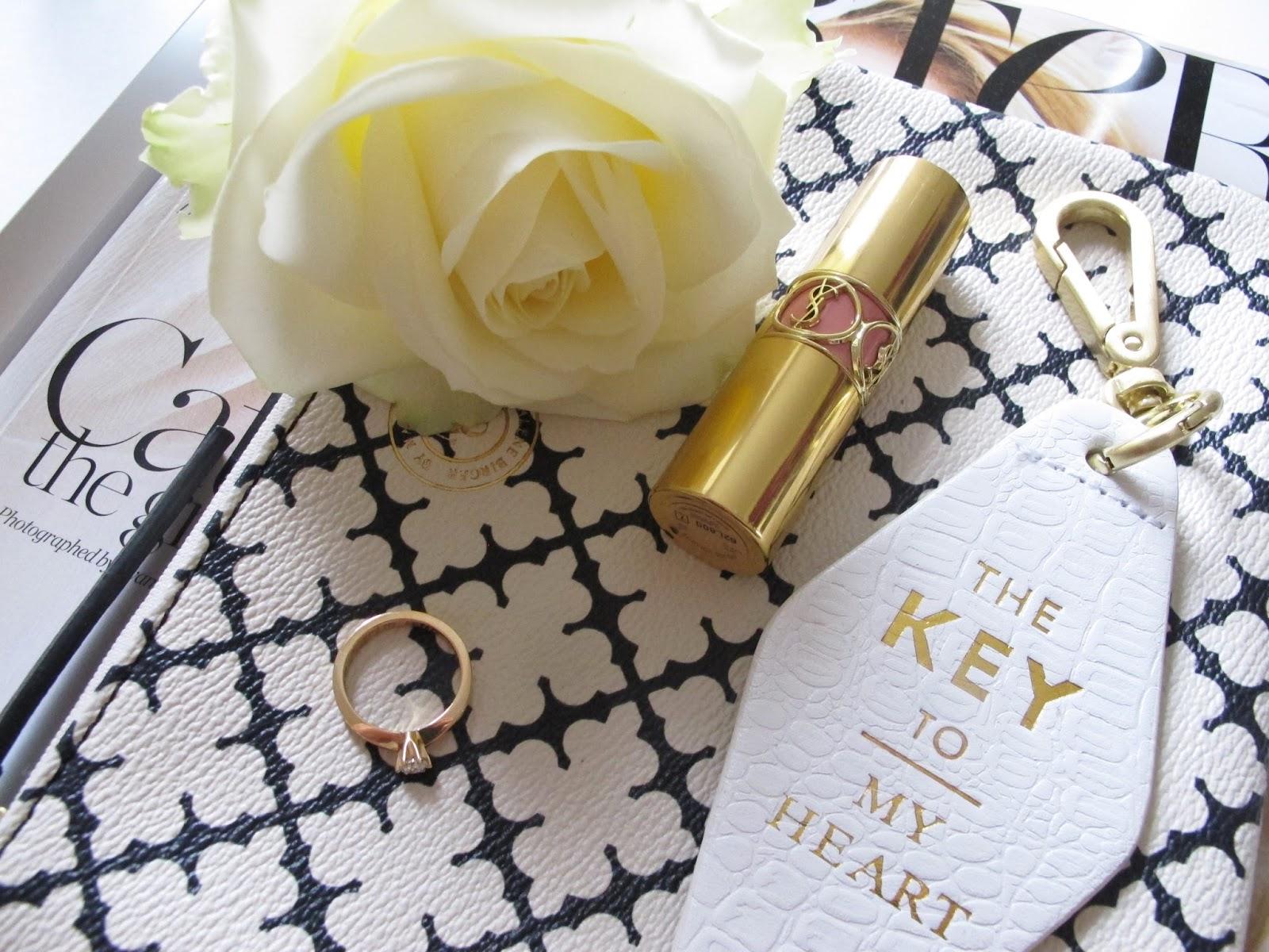 By Malene Birger, Porter Magazine, YSL lipstick, David J.Butler förlovningsring