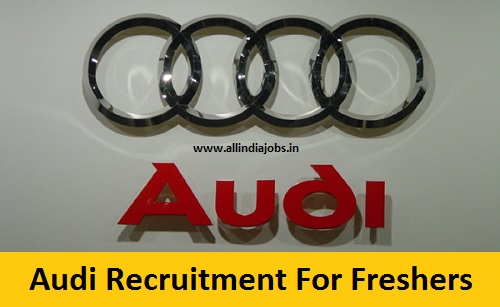 Audi Recruitment 2018-2019 Job Openings For Freshers | Freshers jobs ...