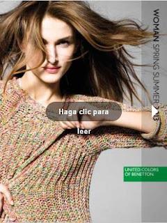 catalogo benetton mujer PV 2013