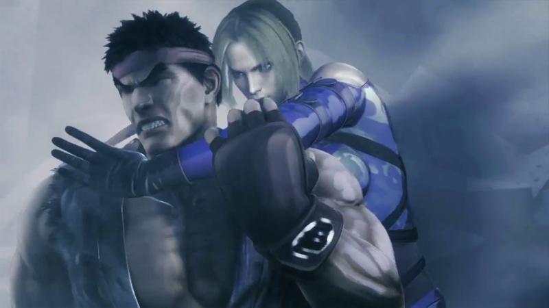 Tekken SFxTK Ryu Nina