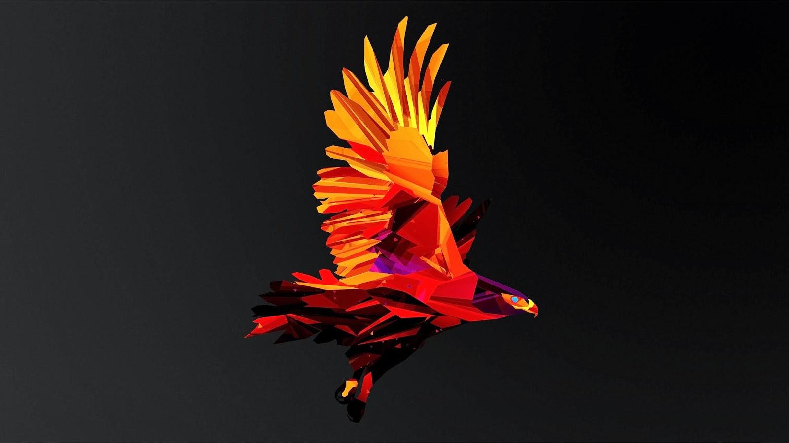 Aguila de fuego en 3d fondos de pantalla hd wallpapers hd - Fenix bird hd images ...