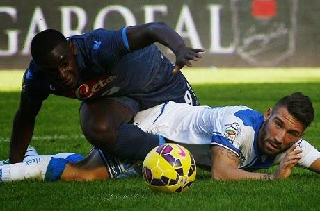 Napoli Imbang 2-2 Atas Empoli