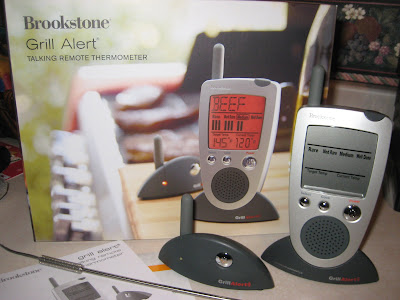 Brookstone Talking Thermometer