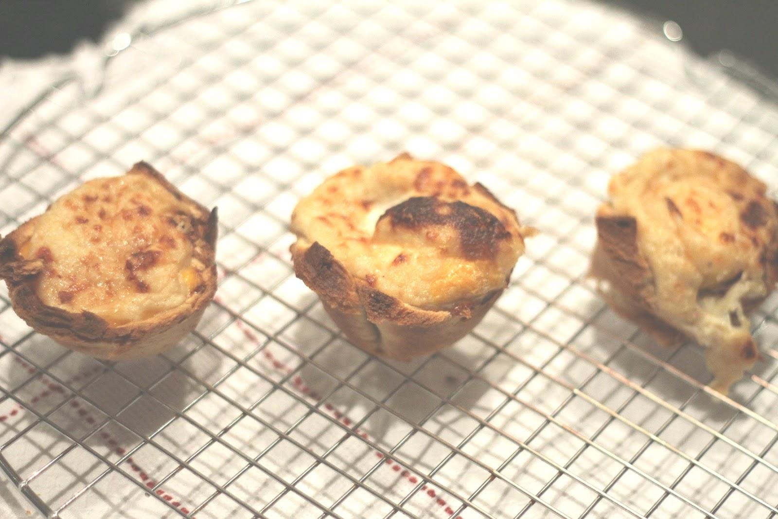 Chef Espoleta Malagueta: Muffin de Croque-Madame