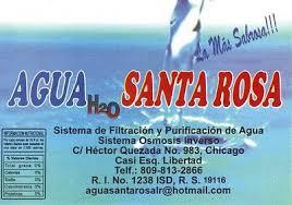 Agua Santa Rosa