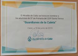 SOMOS LOS GUARDIANES DE LA CALETA