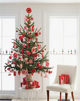 Unusual christmas tree d cor ideas interior decorating for Small decorated christmas trees