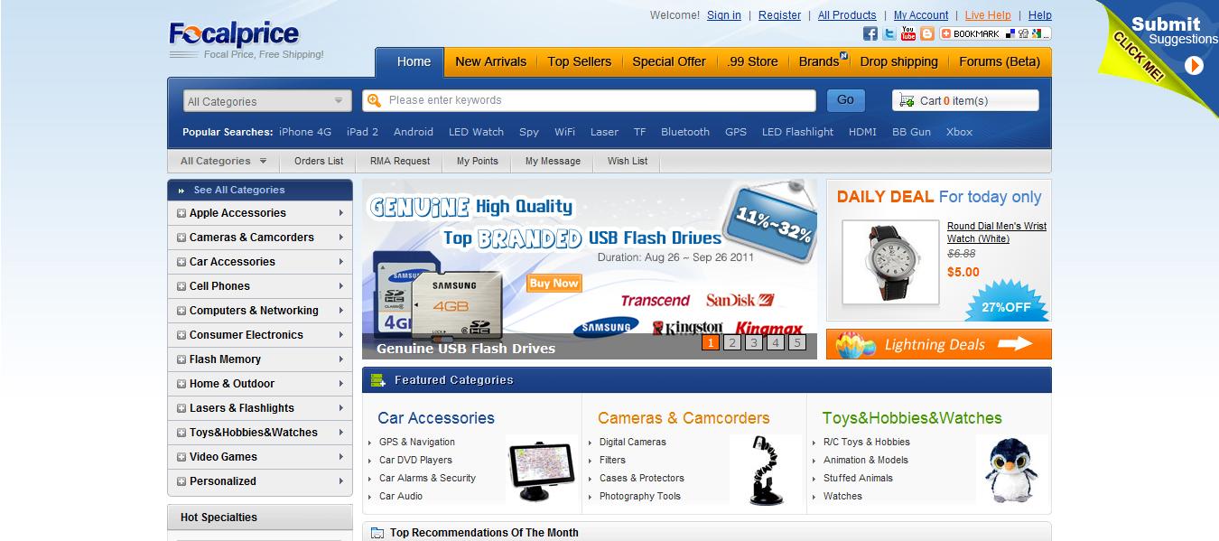 Focalprice: Tienda on-line de productos chinos - Taringa!