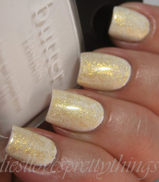 OPI OY-Another Polish Joke over Butter London Cotton Buds
