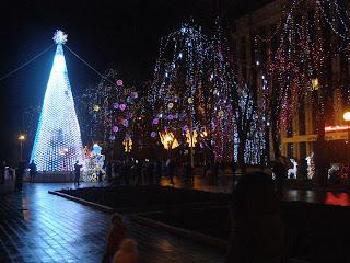 Новый год 2012 в Украине