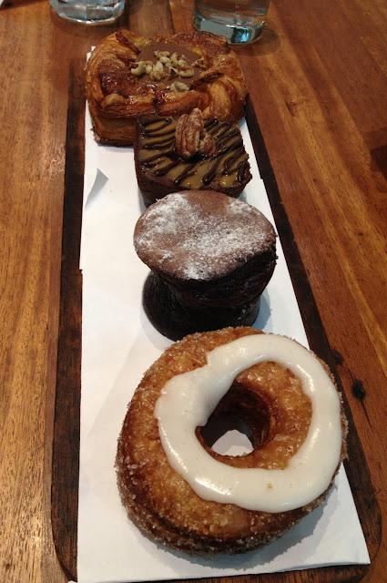 Pastry Board, Wildflour Café + Bakery