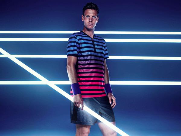 Tomas Berdych H&M colección tenis