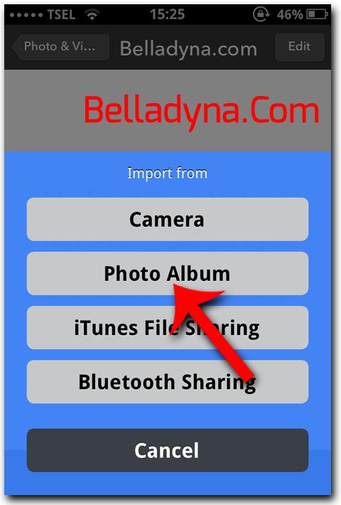Hide foto di iPhone 4