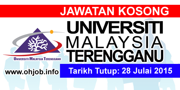Jawatan Kerja Kosong Universiti Malaysia Terengganu (UMT) logo www.ohjob.info julai 2015