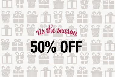 It's the sale of the season! Take 50% off a selection of our most present-worthy gems.