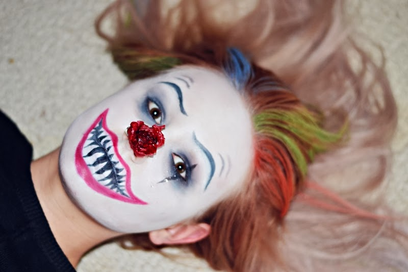 Halloween-MakeUp-Horror-Clown