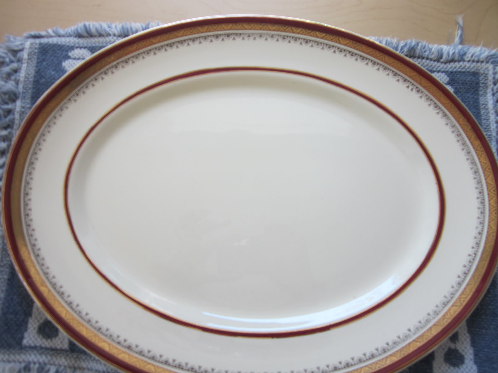Here and There: Myott\'s Royal Crown china \