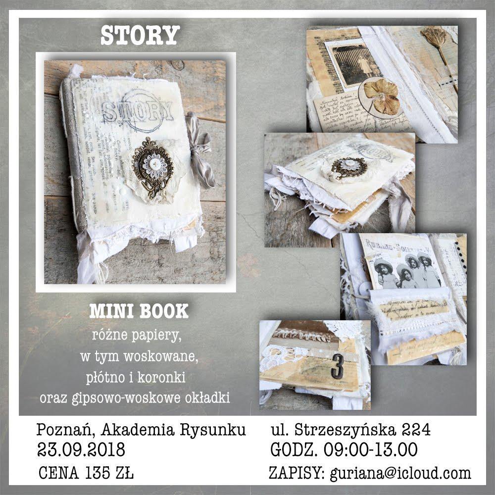 Poznań, Akademia Rysunku: Enkaustyczny mini book STORY
