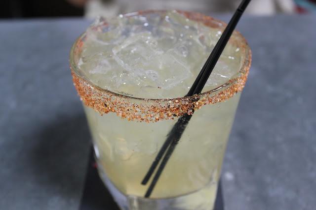 El Diablo margarita at Lone Star Taco Bar, Allston, Mass.