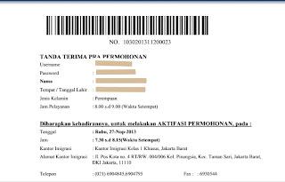 Perpanjang passport online