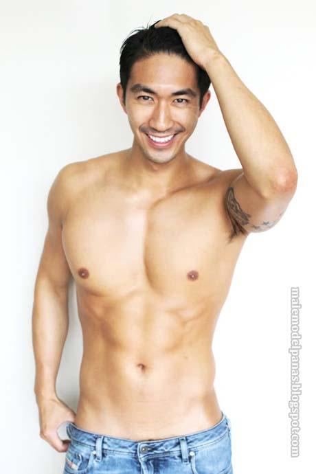 asian super male model