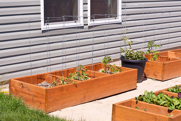 some above ground garden boxes for my wife 39 s square foot garden