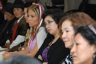 Mujeres de todas partes del Ecuador asistieron a la Rueda de Prensa