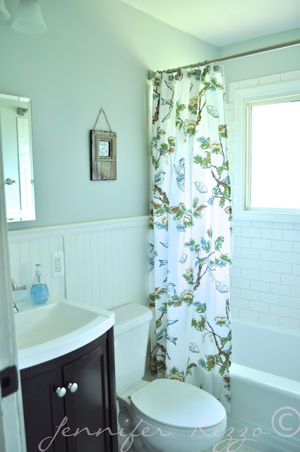 The Oak house project full bathroom renovation with vintage elements before and after pictures
