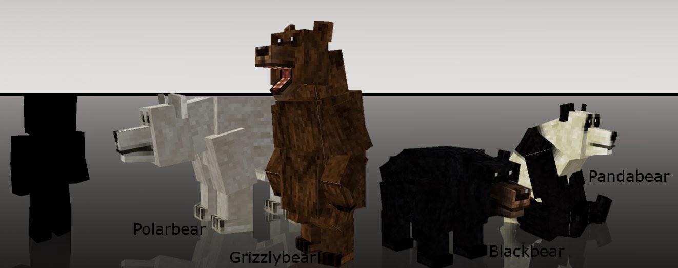 Mo' Creatures osos Minecraft mod