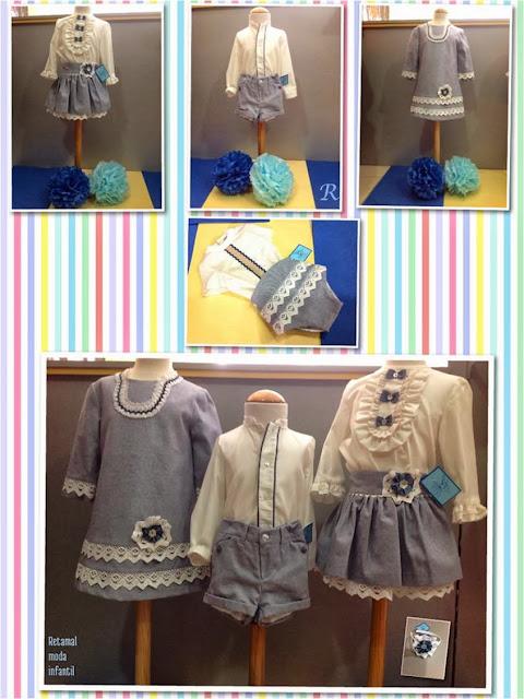 Conjuntos, vestido y diadema del colibrí azul en Blog Retamal moda infantil y bebé