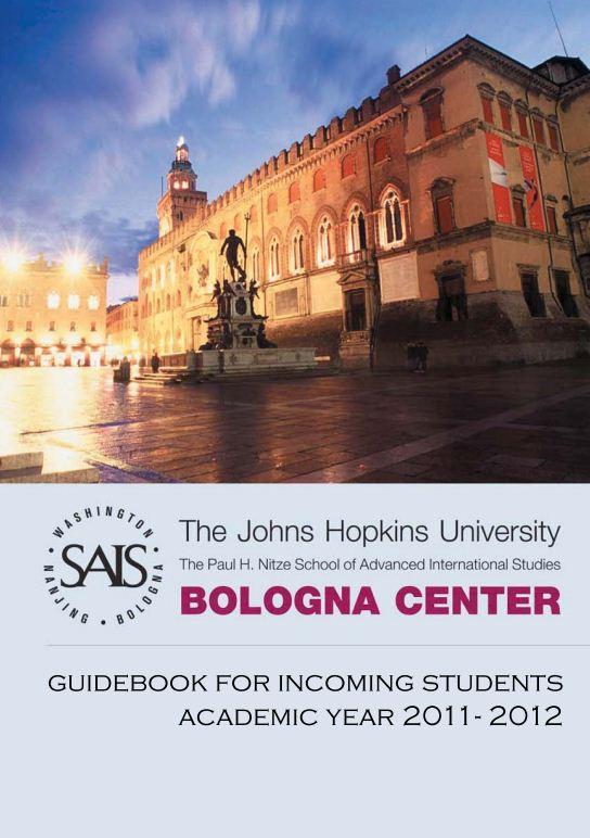 Johns Hopkins SAIS Europe (Bologna) Admissions Blog: May 2011