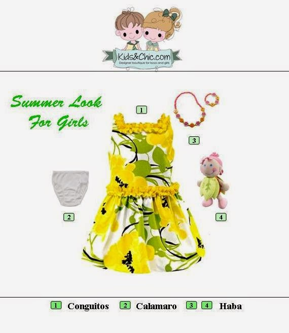 Summer look for girls