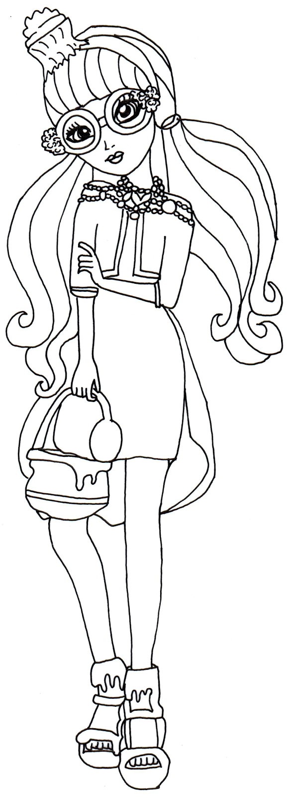 Free Printable Ever After High Coloring Pages October 2015