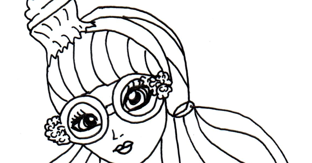 Free Printable Ever After High Coloring Pages Ginger