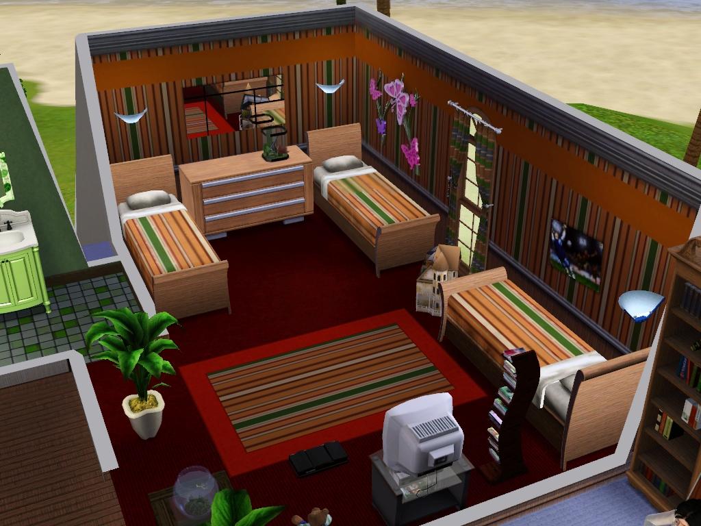 Lantai kedua;;) & Ceritanya\u0027 desain Rumah The Sims 3 gue._.v   Freedom~