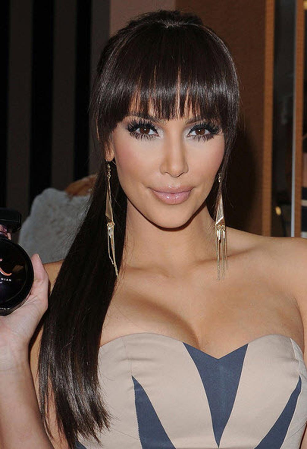 Kim Kardashian Ponytail Hair 05
