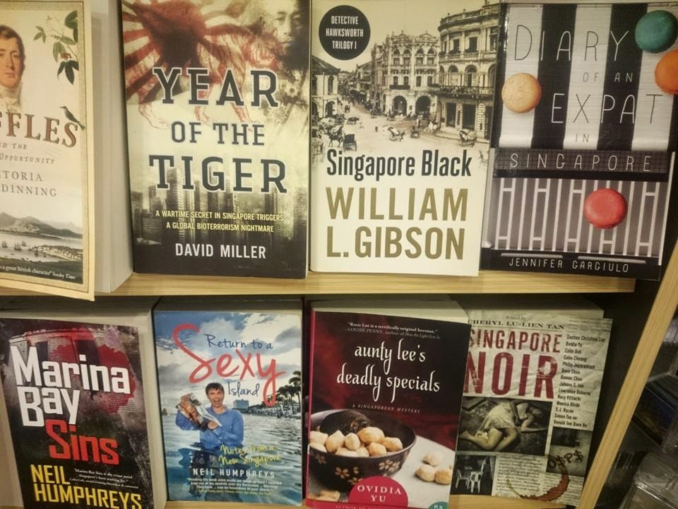 The book 'Diary of An Expat in Singapore' is now available in bookshops