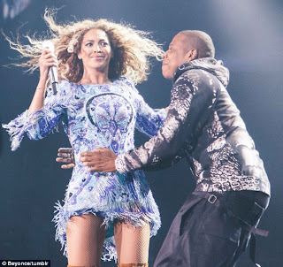 Jay z and Bey
