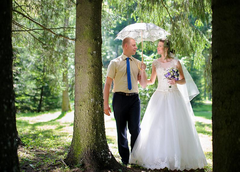 vestuvių fotosesija Likėnų sanatorijos parke