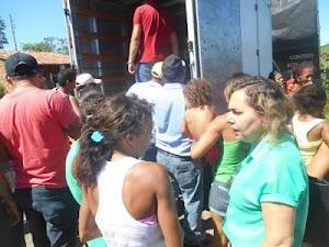 Dois vídeos com a Solidariedade dos Sertanejos de Vista Serrana no Brejo Paraibano
