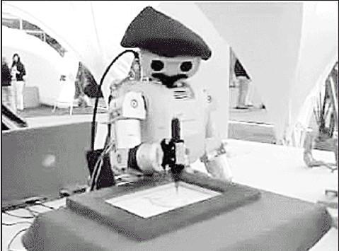 New Artistic Robot Creates Portrait in Minutes