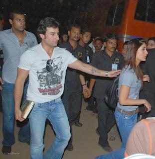 Saif Ali Khan Tattoo Kareena Kapoor's Name