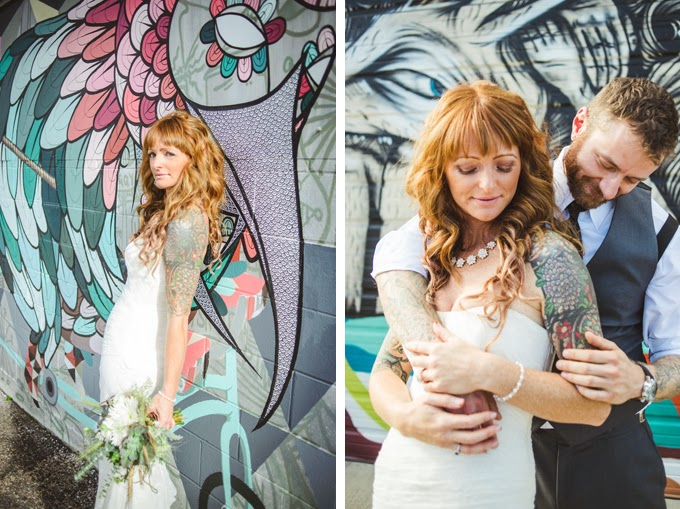 Denver Graffiti Wedding