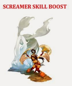 SCREAMER SKILL BOOST
