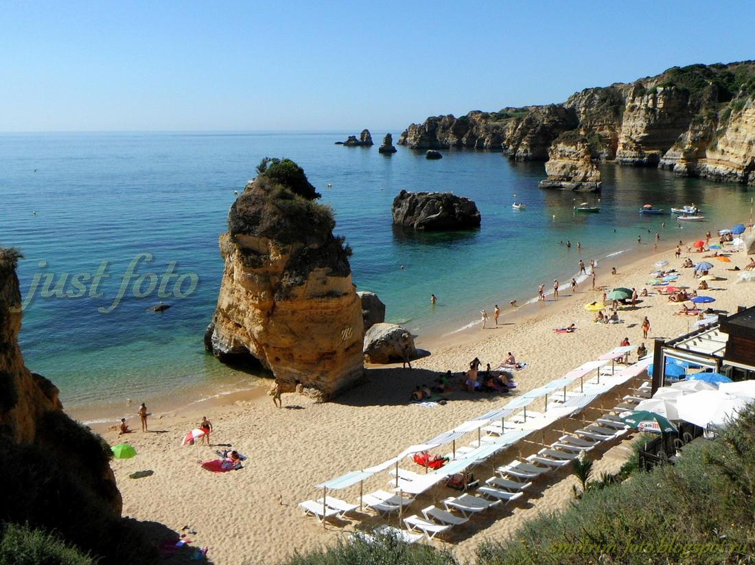 Praia de Dona Ana в Лагуше фото