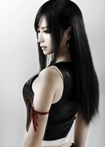Final fantasy cosplay tifa - photo#25