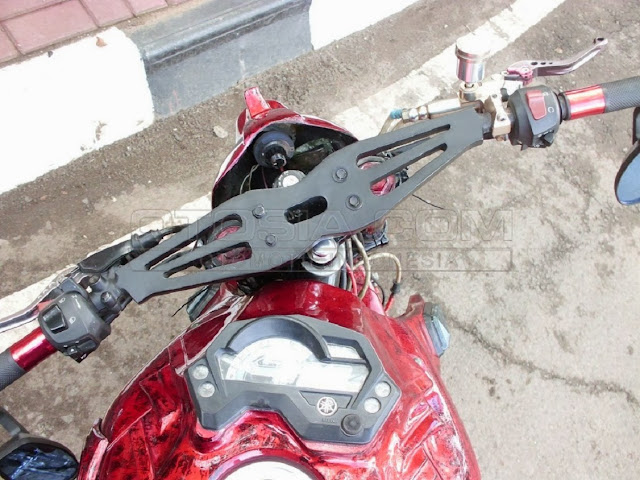 Modifikasi Stang Extrim Yamaha Byson