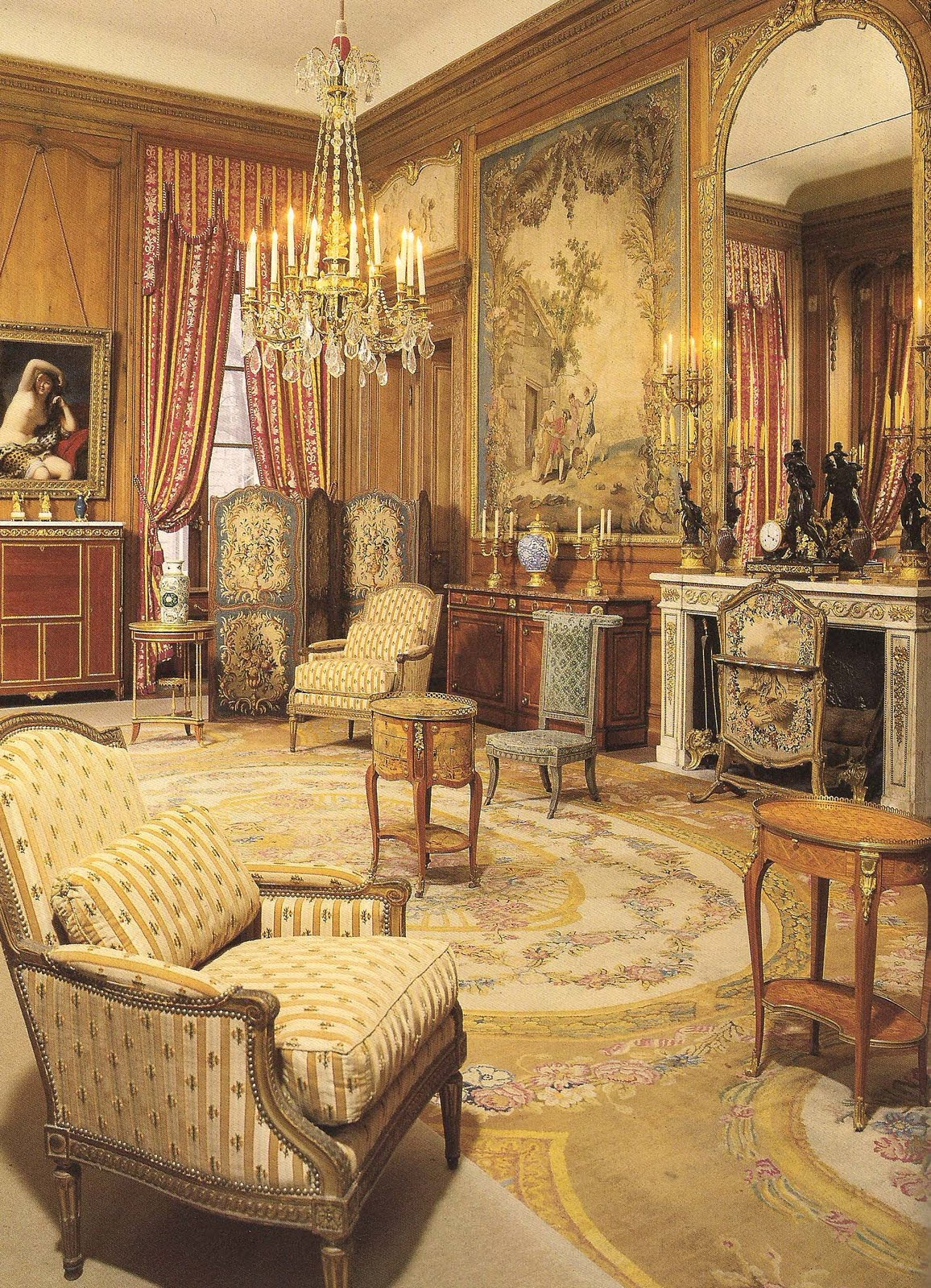 The devoted classicist camondo paris for Grand bureau